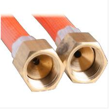 LPG NATURAL GAS HOSE 6mm PVC 3/8'' SAE FF x 3/8'' SAE FF  6HFB1800 1800mm