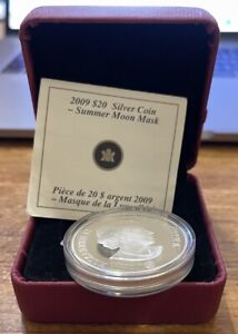 2009 Canada 20 Dollars Silver Proof