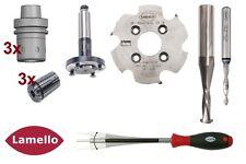 Lamello CNC Fräser und Bohrer Starter-Set, P-System +*300 Clamex P14 kostenlos