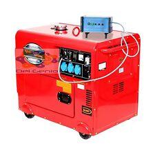 Generatore di corrente diesel silenziato monofase Kraft&Dele + ATS  6,5 KW