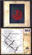 Pinnock SIGNED Arne Avison Boyce Geminiani Stanley a Grand Concert of Musick CD