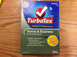 Intuit TurboTax Home & Business Federal + Efile + State 2010 for PC, Mac