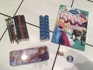 Disney Frozen & Princess Stationary Bundle