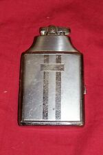Vintage Ronson Mastercase Cigarette Case and with Built In Lighter Old Collector