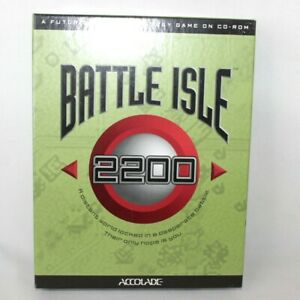 Battle Isle 2200 PC Big Box Game Futuristic War Strategy 1994 ** Empty Box Only