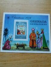 Grenadines of Grenada - 1976 Xmas - MS MNH