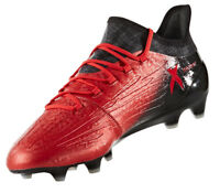 Adidas Men Football Shoes Boots X 16.1 Firm Ground Soccer Cleats Red BB5618 New