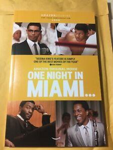 'One Night in Miami' Screenplay fyc Script free ship