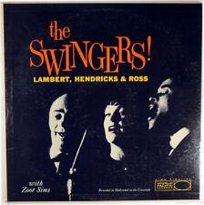 LAMBERT HENDRICKS AND ROSS-THE SWINGERS!-ZOOT SIMS JIM HALL RUSS FREEMAN-1958 LP