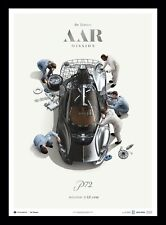 De Tomaso P72 Mission AAR Fine Art Print Poster Ltd Ed