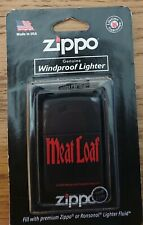 Meat Loaf Zippo lighter, circa 2009
