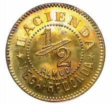 1 / 2 Almud HACIENDA Cafe VEGA REDONDA Las Marias Bucarabones PUERTO RICO 1890
