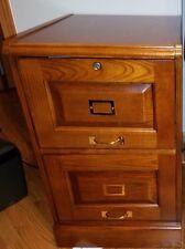 "Coaster 2 DRAWER FILE -OAK 5317N File Cabinet 22.5"" x 19"" x 30"" NEW"
