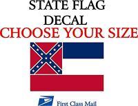5 YR VINYL DECAL STICKER WASHINGTON STATE FLAG