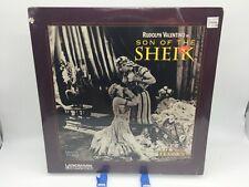 """Son of the Sheik"" Silent Classics Laserdisc LD - Rudolph Valentino Brand New"