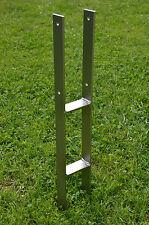 H-Anker 91mm, Edelstahl, A2 in 40x6mm, mit Schraubensatz A2