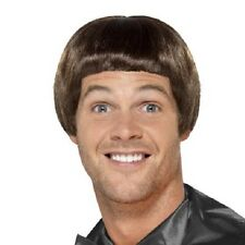 90s Bowl Fancy Dress Wig Comedy Dumb Dumber Guy Wig New by Smiffys