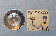 "CD AUDIO MUSIQUE / POLLY MAGOO ""FAIS VITE !"" 4T 1989 CD MAXI-SINGLE PROMO POP"