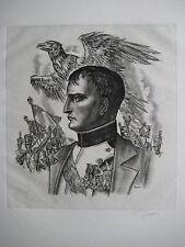 DECARIS ALBERT GRAVURE SIGNÉE AU CRAYON HANDSIGNED ETCHING NAPOLEON HISTOIRE
