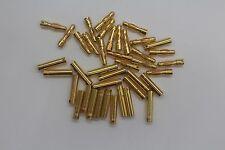20 Pairs 4.0mm 4mm Gold Plated Bullet Banana Connector Plug Socket  RC Battery