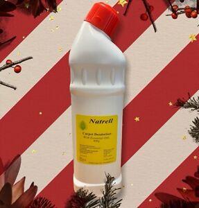 Lasting Fresh Carpet Deodoriser Powder ,Orange base 400g, Natural,Essential Oils