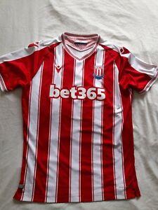 Stoke city home shirt uk large 20/21