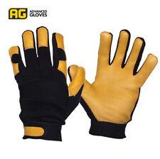 AG BP-300 Premium Cowhide Mechanics Gloves Industrial Farm Driver Construction