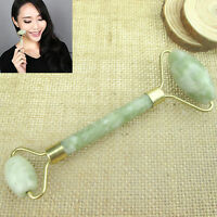 New Hot Portable Natural   Facial Beauty Massage Tool Jade Roller Face Massager