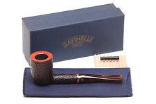 Savinelli Roma Rustic 412 KS Lucite Stem Tobacco Pipe