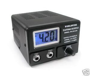 Light Weight PS128 LCD Tattoo Power Machine Supply Unit