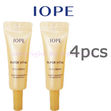 Iope Super Vital Eye Cream 4ea x 3ml, New Extra Concentrate,Anti Wrinkle Amore