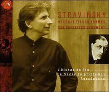 Stravinsky: Le sacre du printemps; L'Oiseau de feu; Persephone (CD, Apr-1999, 3…