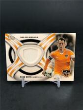 2013 Topps Mls Brad Davis Game Used Jersey Houston Dynamo