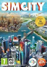 Simcity 2013 Sim City PC DVD XP Vista 7 8 Brand New Factory Sealed