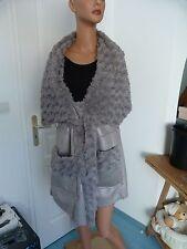 superbe et très classe veste grise sans manche MYRINE AND ME T M