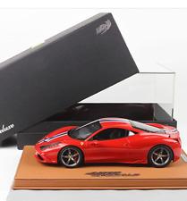 BBR 2014 Ferrari 458 Speciale (BBR SIGNATURE EDITION) 1:18 LE 8pcs New* RARE!