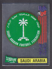 Panini - USA 94 World Cup - # 435 Saudi Arabia Foil Badge (Black Back)