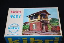 W160 KIBRI Train Maquette Ho 9487 Poste de voie gare diorama Stellwerk marbach