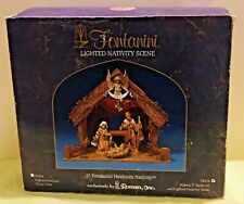 Fontanini Nativity Scene Stable Only With Original Box Roman Inc. 50516 Nice