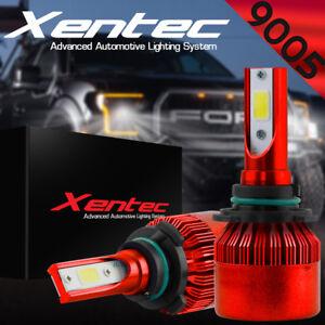 XENTEC 2x 9005 HB3 LED Headlight Bulb Conversion Kit High Beam 6000K White Light