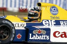 Thierry Boutsen Williams FW13B F1 temporada 1990 fotografía 1
