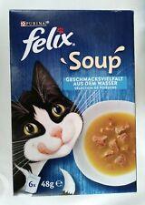 4 x felix soup Geschmacksvielfalt aus dem Wasser á 6 x 48 g