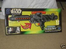 1997 Star Wars POTF Kenner Stormtrooper Electronic Camo Laser Blaster Rifle