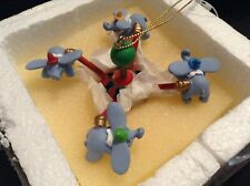 RARE Disneyland 1999 Christmas Ornament Dumbo Ride 1 of 6 in a set****NEW***