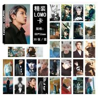 Kpop EXO Chanyeol Paper Lomo Photo Card Don't Mess Up My Tempo Photocard 30pcs