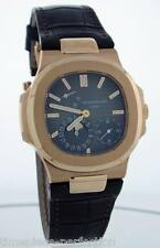 Patek Philippe Nautilus Auto 40mm Rose Gold Mens Strap Watch Date Moon 5712r-001