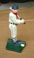 Babe Ruth baseball cast iron door stop/stopper,book end,baseball bat memorabilia