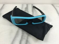 SONY 3D GLASSES TDG-BR50 SIZE SMALL BLUE WITH POUCH EXCELLENT