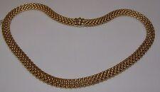 COLLANA ORO 18kt FIRMATA FOPE GOLD NECKLAC collar de oro Goldkette Guldhalsband