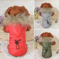 Pet Coat Dog Jacket Winter Clothes Puppy Cat Sweater Clothing Coat Apparel S-XXL